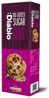 9449 Diablo Cookie Cranberry 3D