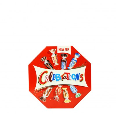 CELEBRATIONS  Milk Chocolate Bites Mars Snickers Milky Way Dove Twix, 196g 19.99