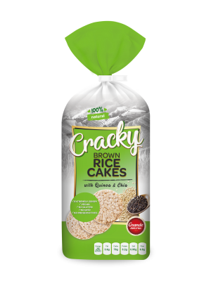 Cracky - Rice Cakes - chia