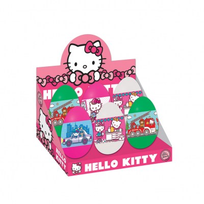 HELLO KITTY GIGANT EGG display