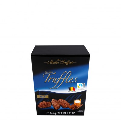 Maitre Truffout Flaked Truffles Milk Candy