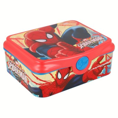 sandwichera-deco-spiderman-red-webs