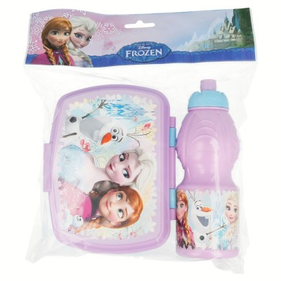 set-vuelta-al-cole-2-pcs-botella-sport-y-sandwichera-frozen-floral