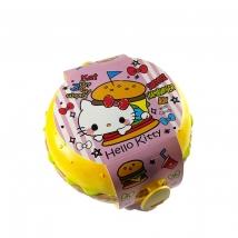 Hamburger cutie alimente Hello Kitty cu surprize