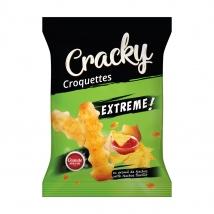 Crochete Cracky Extreme Cu Aroma De Nachos 80g