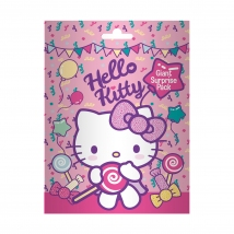 Hello Kitty PACHET GIGANT CU ACADELE SI SURPRIZE