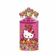 HELLO KITTY BOMBOANE pe băț, 16 g