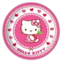 Set 8 farfurii Hello Kitty