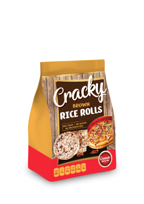 Cracky - Rice Rolls - pizza