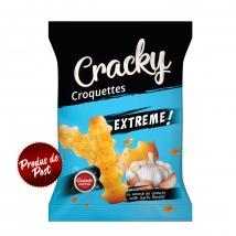Crochete Cracky Extreme Cu Aroma De Usturoi 80g