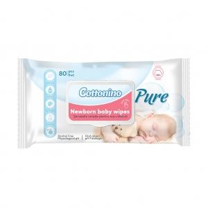 Servetele Umede pentru Nou-Nascuti, Cottonino Pure, 80 buc