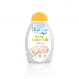 Lotiune Ulei pentru Bebelusi Cottonino Pure, 300ml