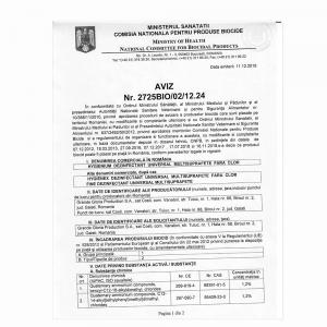 DEZINFECTANT MULTISUPRAFETE HYGIENIUM 750ML AVIZAT M.S.