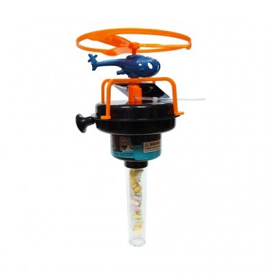 Jucarie Elicopter Albastru cu Bomboane 8gr