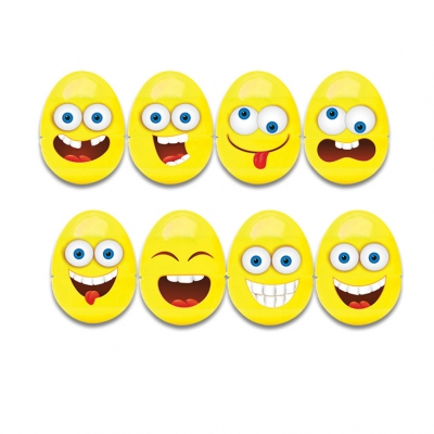 OU cu suprize Smiley Faces Lolliboni