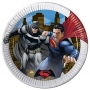 Set 8 farfurii Batman si Superman