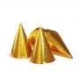Set 6 coifuri aurii Prismatice